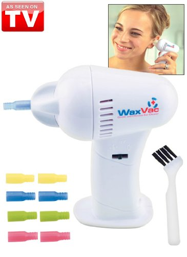 49% OFF, Vacuum Ear Cleaner Wax Waxvac Good Cordless Vac Safety Cleaning Remover Earpick, Only $7.2+Free Shipping by Onfancy.com