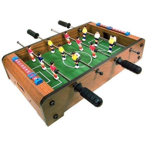 17% OFF,Mini Tabletop Foosball Soccer Table Game, Only $29.99+Free Shipping by Onfancy.com