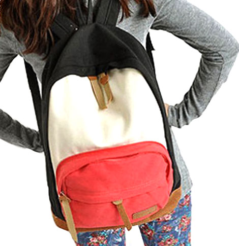 Cool Canvas Backpack Bag